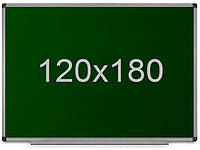 Школьная доска для мела 120х180 см, фото 1