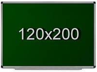 Школьная доска для мела 120х200 см