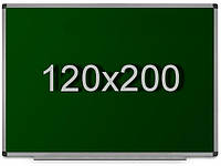 Школьная доска для мела 120х200 см, фото 1