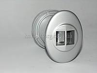 Глазок дверной панорамный S-06 Серебро