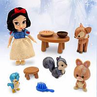 Кукла набор белоснежка Disney Animators' Collection Snow White Mini Doll Play Set - 5''
