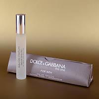 Мужской мини парфюм Dolce&Gabbana The One 15 ml в треугольнике DIZ