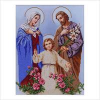 """Схема для вышивки бисером """"Икона """"Святое семейство"""""""