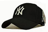 Стильная шерстяная кепка NEW YORK. Зимняя кепка. Мужская теплая бейсболка. Модная шапка.  Код: КБН158