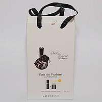 Rock`n`Rose Couture Valentino мини парфюмерия в подарочной упаковки 3х15ml DIZ