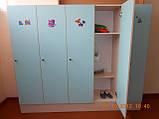 Шкафы и лавочки для детского сада, фото 2
