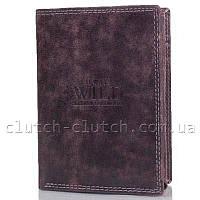 Портмоне для документов и денег Always Wild DNKD1072-MCR-brown коричневое
