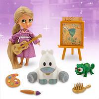 Кукла набор рапунцель Disney Animators' Collection Rapunzel Mini Doll Play Set - 5''