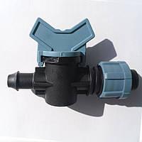 Кран стартовый для капельной ленты с уплотнительной резинкой Santehplast SL-003