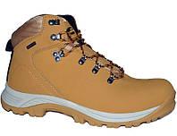 Ботинки зимние водонепроницаемые кожаные мужские Atletico