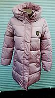 Зимняя женская куртка с мехом  17-48