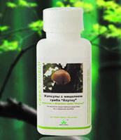 Капсулы с мицелием гриба Хоу Тоу Green World ( c черным древесным грибом, гриб ежовик)