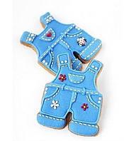 Каттер металл детский костюм для пряников и печенья