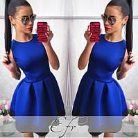 Платье купить  в складку с кружевом пишное 42 44 46 48 50 Р, фото 1