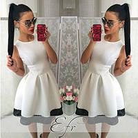 Платье купить в складку с кружевом рукав пышное  42 44 46 48 50 Р, фото 1
