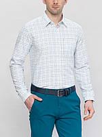 Мужская рубашка LC Waikiki белого цвета в полоску L