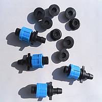 Старт Фитинг для капельной ленты c уплотнительной резинкой Santehplast SL-001