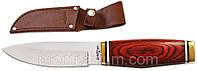 Нож нескладной 2101 K (чехол кожа) MHR /0-11
