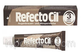 Краска для бровей и ресниц коричневая RefectoCil Augenbrauen und Wimpernfarbe 15 ml