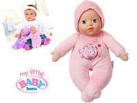 Пупс Bobas первая любовь Baby Born с соской Zapf Creation 819869R