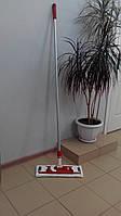 Швабра для влажной уборки микрофибра 40см