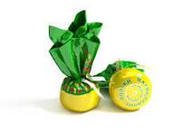 Конфеты Мармеладные дольки со вкусом лимона на натуральном соке