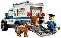 Bela Urban 10419 Полицейский отряд с собакой, 250 деталей, 3 фигурки, 2 авто