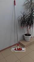 Универсальная швабра под отжим для влажной и сухой уборки 40 см