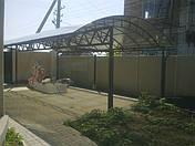 Козырьки и навесы из поликарбоната, фото 2