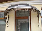 Козырьки и навесы из поликарбоната, фото 3