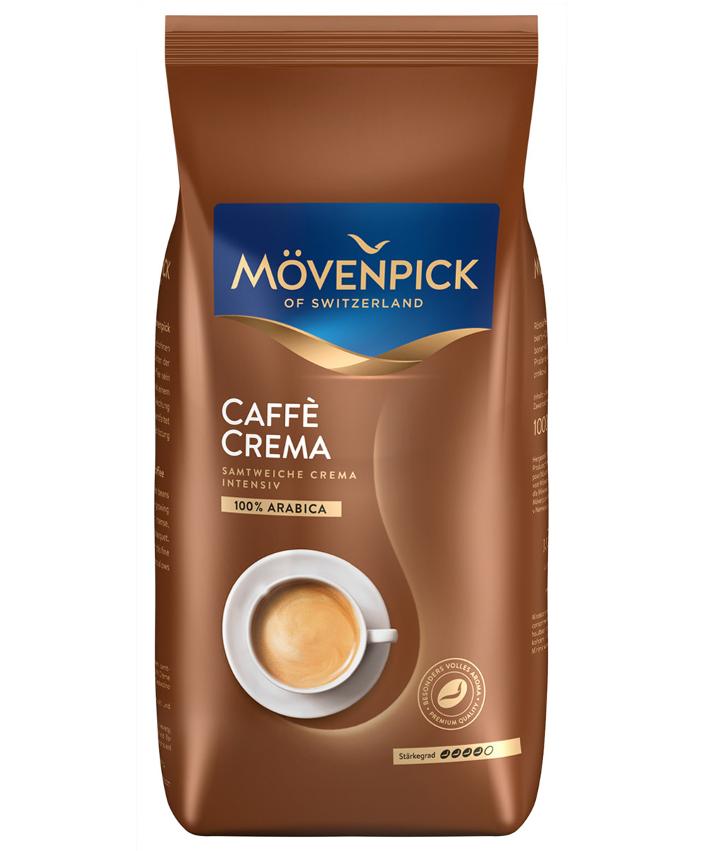 Кава в зернах Movenpick Caffe Crema  500g Німеччина