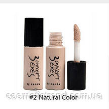 Корректор жидкий для глаз и губ Liquid Concealer Stick Eye &Lip Long Lasting #2 Natural Color(натуральный) 7мл, фото 2