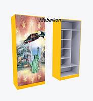 Шкаф Америка разные цвета