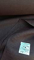 ЧистоЛьняная ткань для постельного белья 260 см (шоколадного цвета)