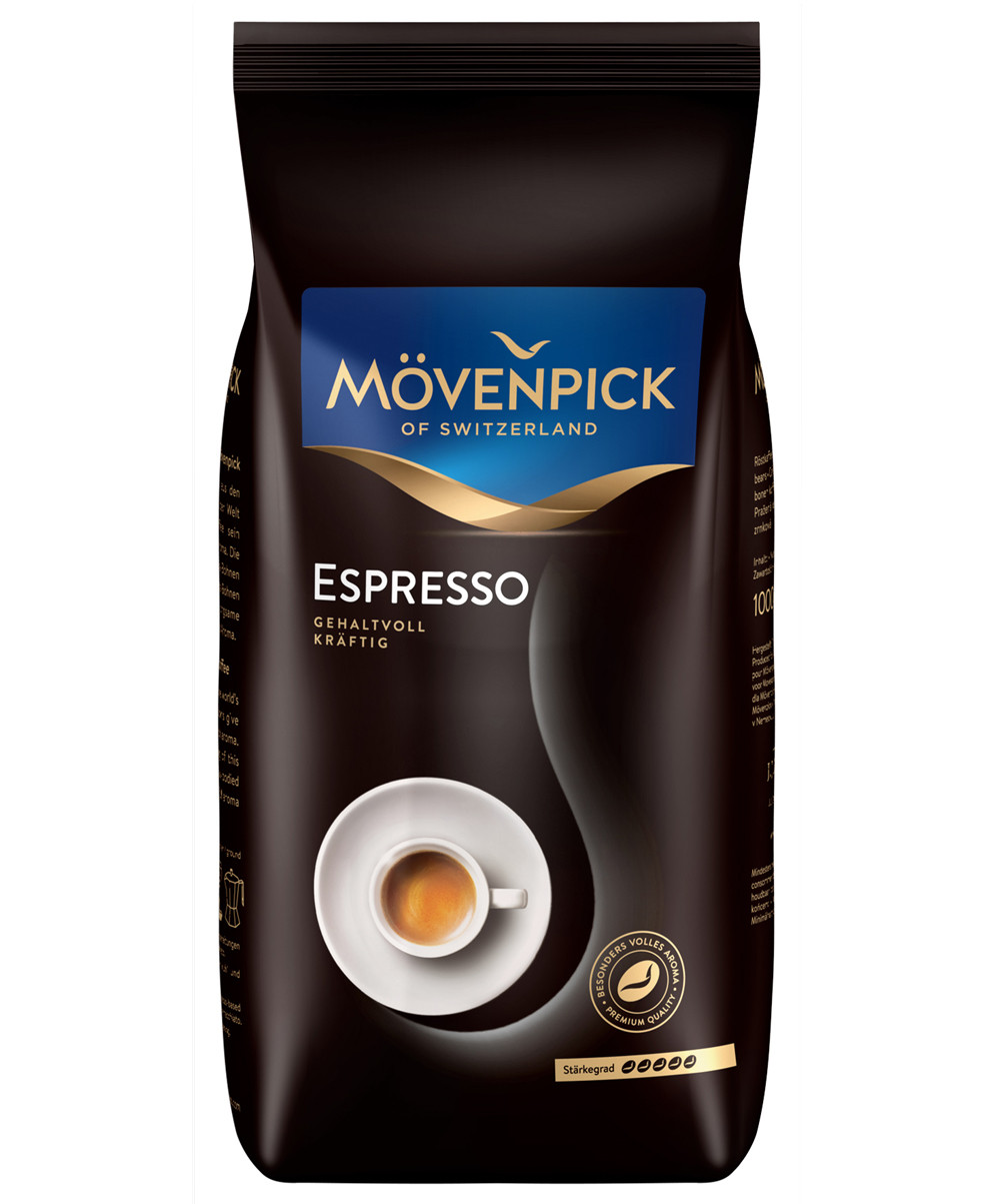Кофе в зернах Movenpick Espresso 500г Оригинал