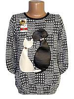 Модная детская туника Кошки