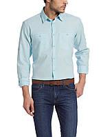 Мужская рубашка LC Waikiki голубого цвета, фото 1