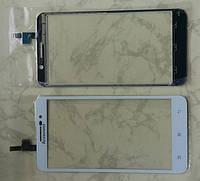 Сенсорний екран для смартфону Lenovo A850+, тачскрін білий
