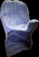Рукавиці робочі комбіновані джинс