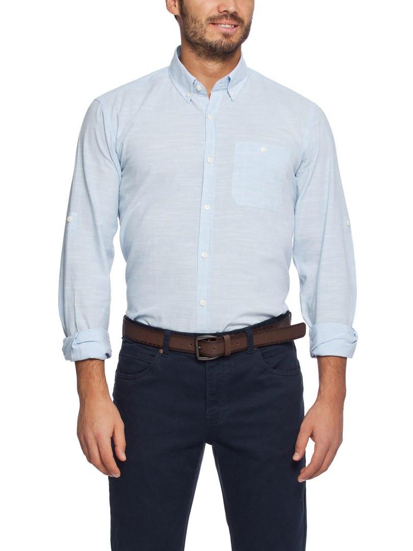 Голубая мужская рубашка LC Waikiki /ЛС Вайкики та