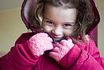 Детские вязаные перчатки!