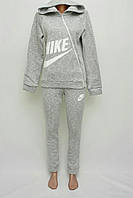 Женский серый спортивный костюм (зима)