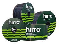 Крапельна стрічка Хірро Тейп Hirro Tape 6 mil через 20 см 1 л на годину суцільний силіконовий лабіринт 3 000 м