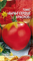 Бычье сердце красное семена томата Семена Украины 0.20 г
