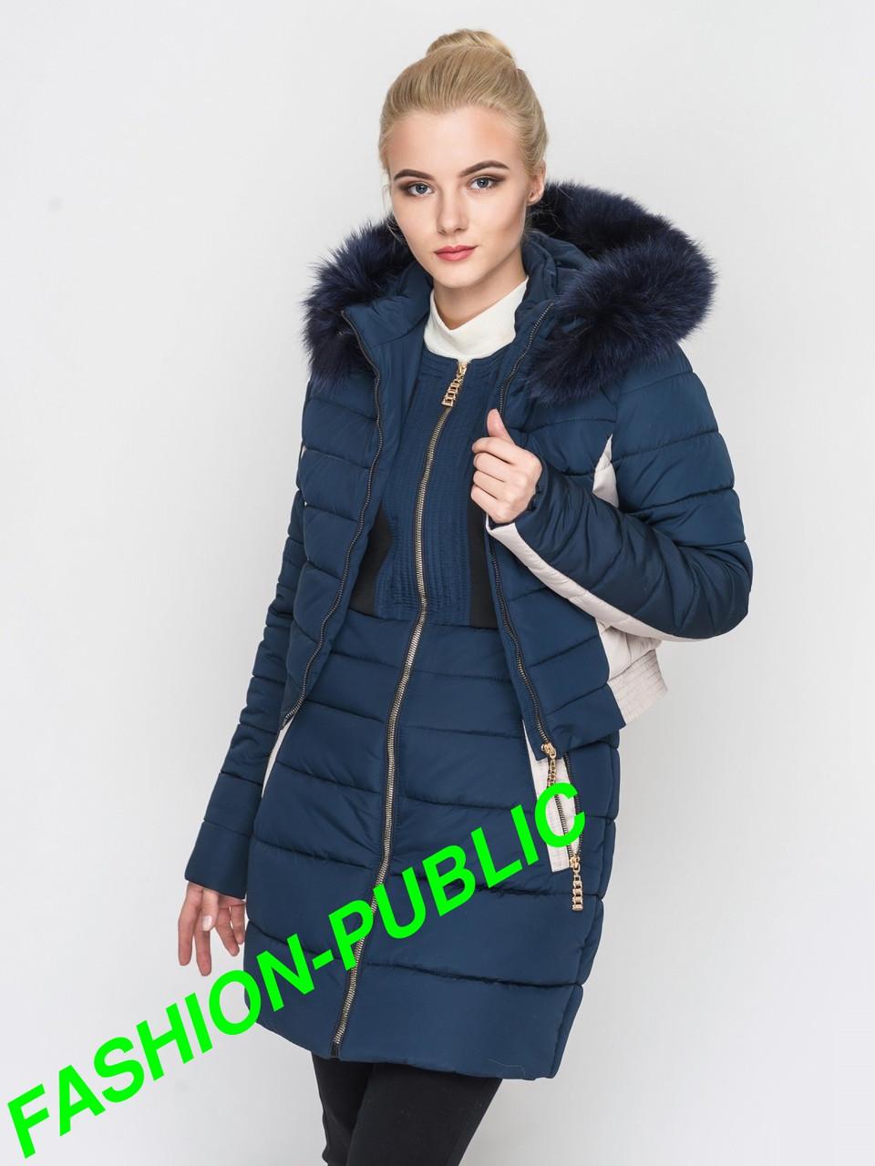 Куртка-трансформер зимняя женская  - FASHION-PUBLIC Одежда и аксессуары от производителя в Харькове