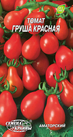 Груша красная семена томата Семена Украины 0.20 г