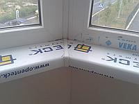 Пластиковые подоконники Open Teck цвет белый 150мм