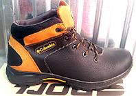 Ботинки кожаные мужские зимние низкие Columbia C0013