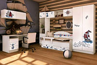 Мебель для детской комнаты Корабль