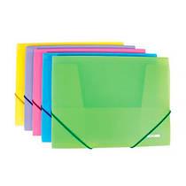 Папка  А4 на резинках Вышиванка, цветная